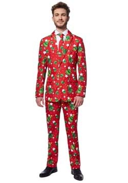 Suitmeister Christmas Tree Stars Red Suit
