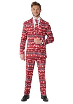 Suitmeister Nordic Pixel Red Suit