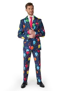 Suitmeister Confetti Balloons Navy Suit
