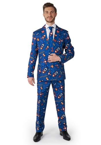 Suitmeister Gamer Navy Mens Suit