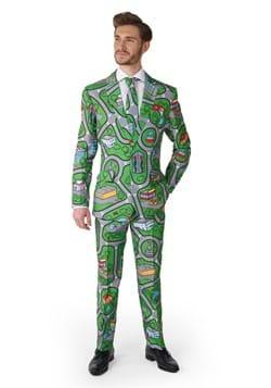 Suitmeister Carpet City Green Suit for Men