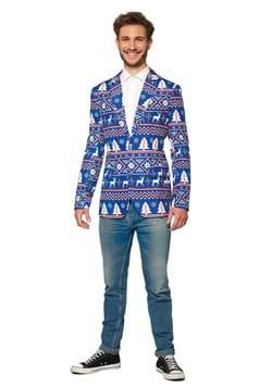 Suitmeister Christmas Blue Nordic Blazer