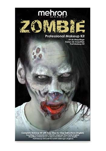 Click Here to buy Zombie Makeup Kit from HalloweenCostumes, USA Funds & Shipping