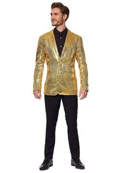 Suitmeister Sequins Gold Blazer