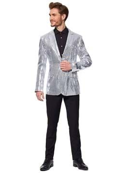 Suitmeister Sequins Silver Blazer