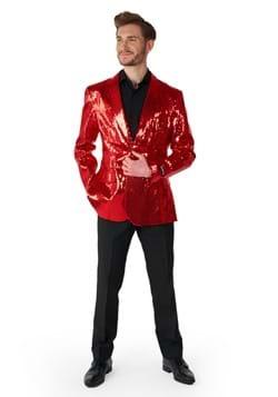 Suitmeister Sequins Red Mens Blazer
