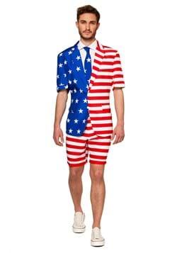 Suitmeister Summer USA Flag Mens Suit