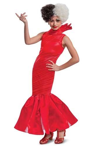 Cruella Tween Red Dress Costume