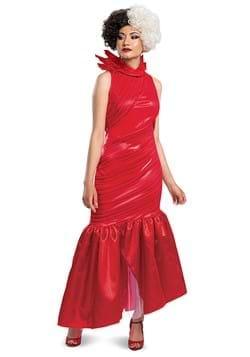Cruella Adult Red Dress Classic Costume