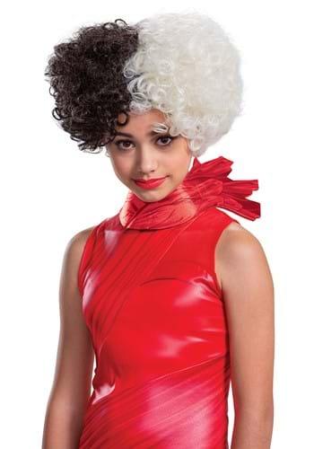 Cruella Live Action Tween Wig