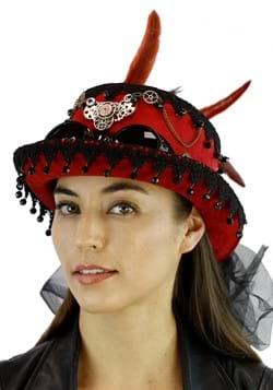 Burgundy Steampunk Hat