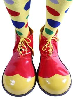 Red Jumbo Clown Shoe
