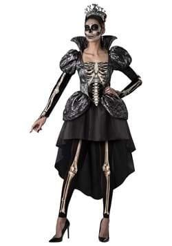 Women's Skeleton Queen Costume