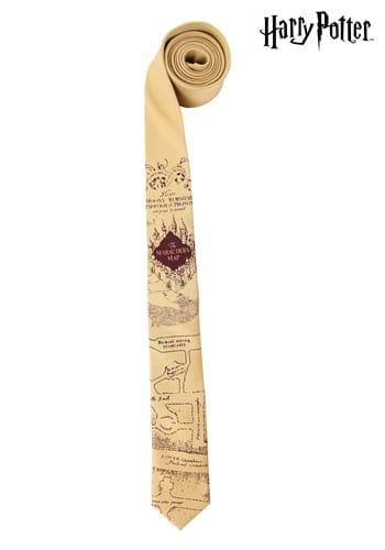 Harry Potter Marauders Map Necktie
