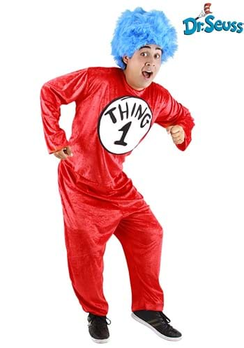 Thing 1 & Thing 2 Adult Halloween Costume