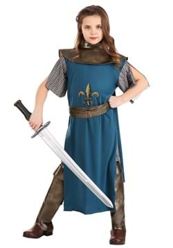 Kids Brave Joan of Arc Costume
