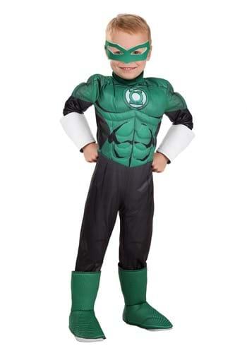 Green Lantern Deluxe Toddler Costume