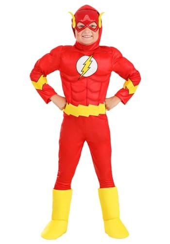 Flash Classic Deluxe Kid's Costume upd