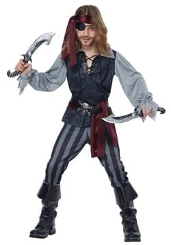 Kids Sea Scoundrel Pirate Costume