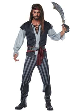 Mens Plus Size Scallywag Pirate Costume