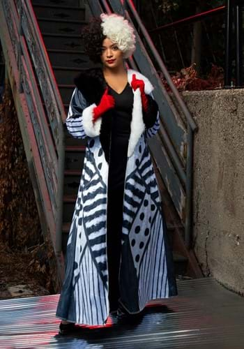 Descendants Womens Cruella Costume-2
