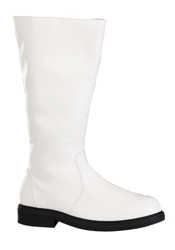 Adult Tall White Boots