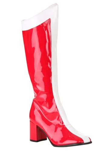 Womens Wonderful Woman Costume Boots-update