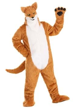 Adult Fox Costume With Mouth Mover Mask