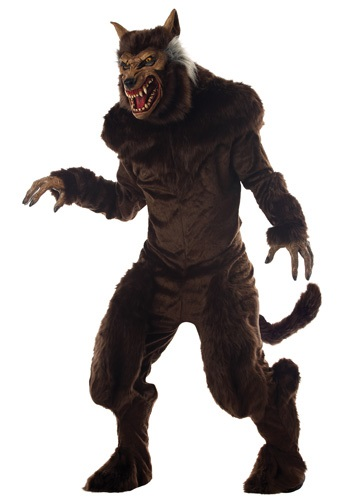 Click Here to buy Deluxe Werewolf Costume from HalloweenCostumes, USA Funds & Shipping