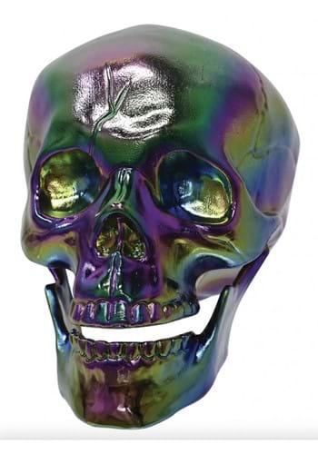 Oil Slick Skull