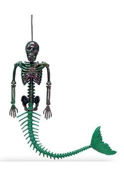 21 Oil Slick Skeleton Mermaid
