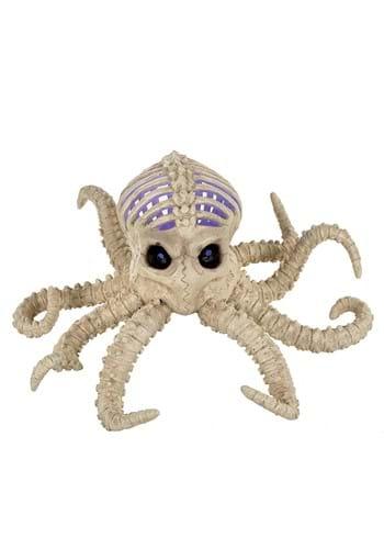 "11.75"" Light Up Skeleton Octopus"