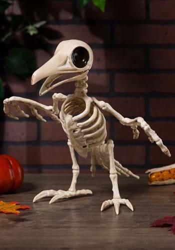 """10.5"""" Creepy Raven Skeleton"""