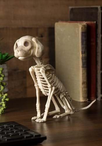 """7.5"""" Sitting Puppy Skeleton"""