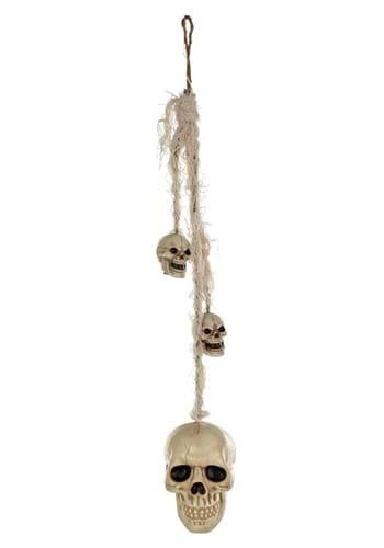 24 Inch Hanging Skulls