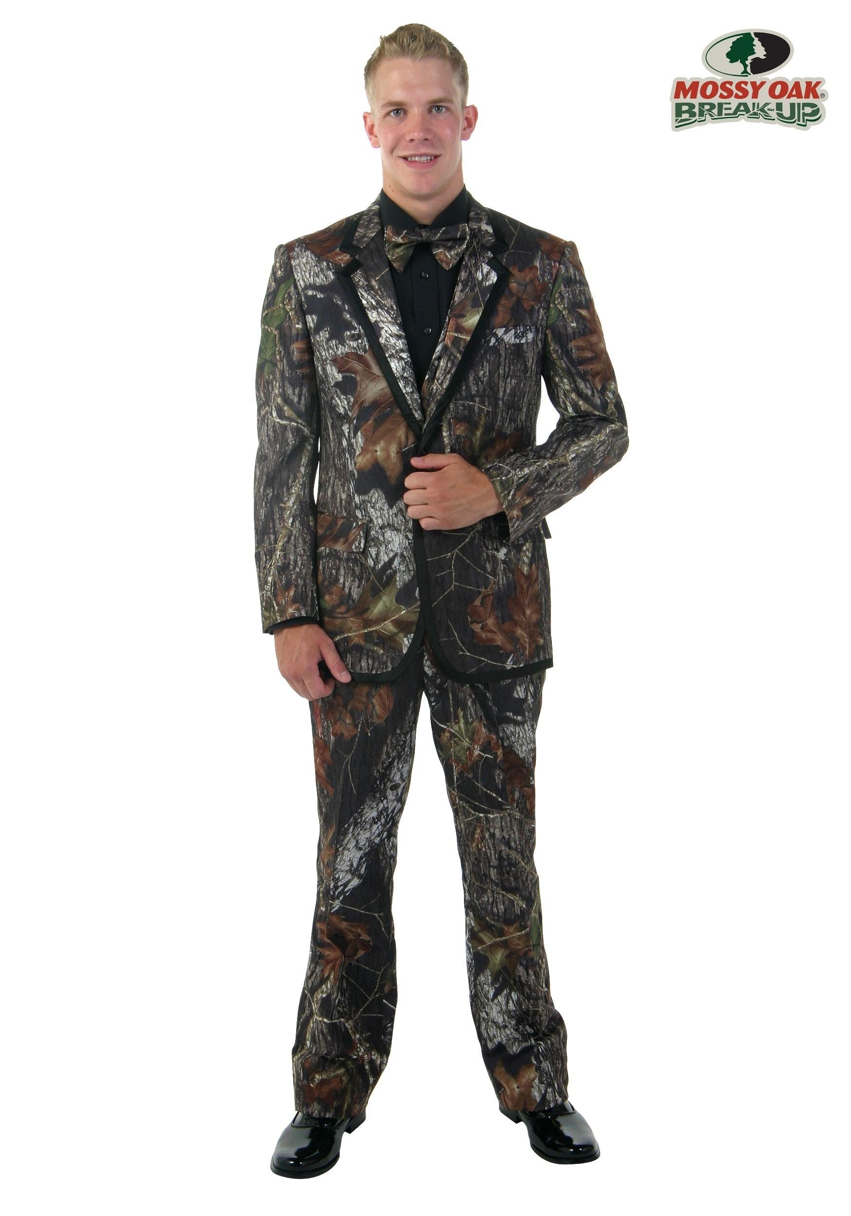Mossy Oak New Break Up Alpine Formal Tuxedo