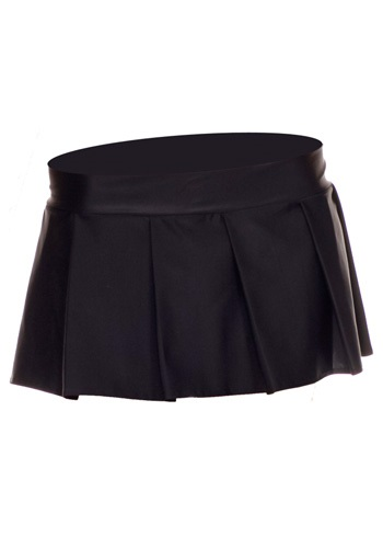 Image of Black Pleated Skirt