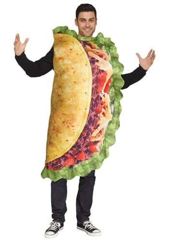 Adult Plus Realistic Taco Costume