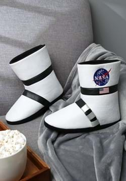 Astronaut Adult Boot Slippers