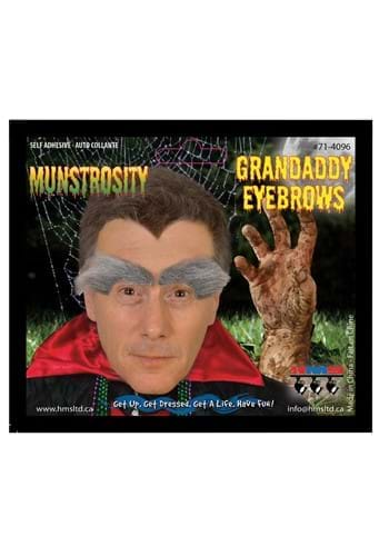Gramps Costume Eyebrows