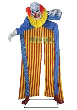 10ft Looming Clown Animated Archway Prop