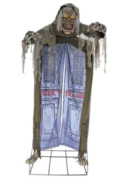 10ft Looming Ghoul Animated Archway Prop