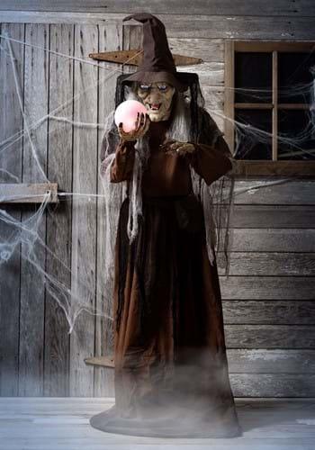 68 Inch DigitEye Soothsayer Witch Animated Prop