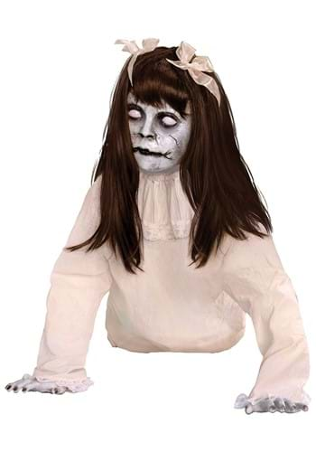 21 Crawling Possessed Girl Animated Prop