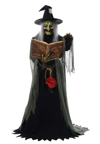 5 Ft Animated Spell Speaking Witch