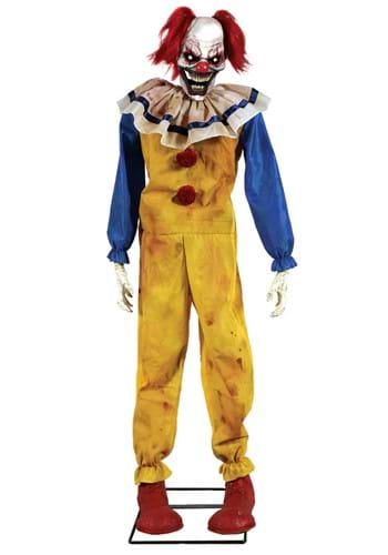 Animated Twitching Clown Prop