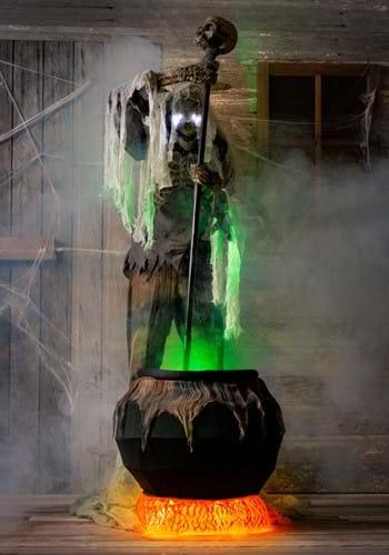 Animated Cauldron Creeper Prop