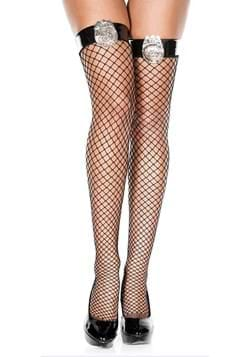 Police Badge Thigh Highs