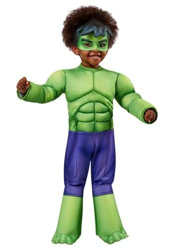 Marvel Deluxe Hulk Toddler Costume