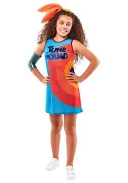 Space Jam 2 Lola Bunny Tune Squad Girls Costume